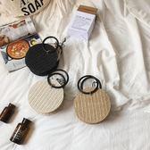 手提草編包夏天小包包女新款單肩迷你手工編織包度假包 創想數位
