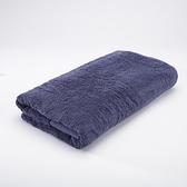 HOLA 埃及棉加大浴巾 湛藍90x150cm