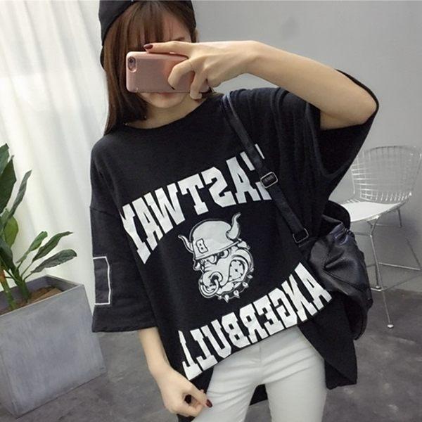 DE SHOP~(T-0877)寬鬆oversize短袖t恤