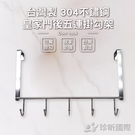 免運【用昕】台灣製 304不鏽鋼皇家門後...