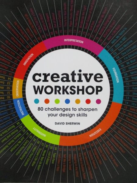 【書寶二手書T9/廣告_YAP】Creative Workshop-80 Challenges to Sharpen Y