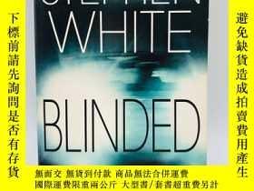 二手書博民逛書店Blinded罕見英文原版《黑暗》Y274081 White,