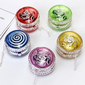 創意閃光悠悠球兒童開學小禮物發光溜溜球yoyo球男孩夜光益智玩具  免運快速出貨