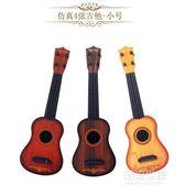 兒童玩具吉他可彈奏尤克里里音樂樂器男女初學者吉他QM『艾麗花園』