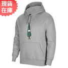 【現貨】Nike SB 男裝 連帽 長袖 滑板 聖誕樹 微刷毛 抽繩 灰【運動世界】DJ3677-063