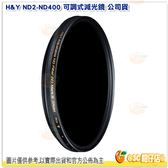 H&Y ND2-ND400 67mm 可調式減光鏡 公司貨 可調 減光 濾鏡 德國 玻璃