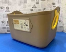 【震撼精品百貨】Winnie the Pooh 迪士尼 小熊維尼2.5L置物桶-咖啡#34049