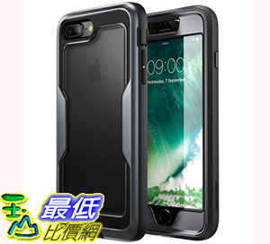 [106美國直購] 手機保護殼 i-Blason iPhone 8 Plus Case, [Heavy Duty Protection] [Magma Series] Shock Reduction