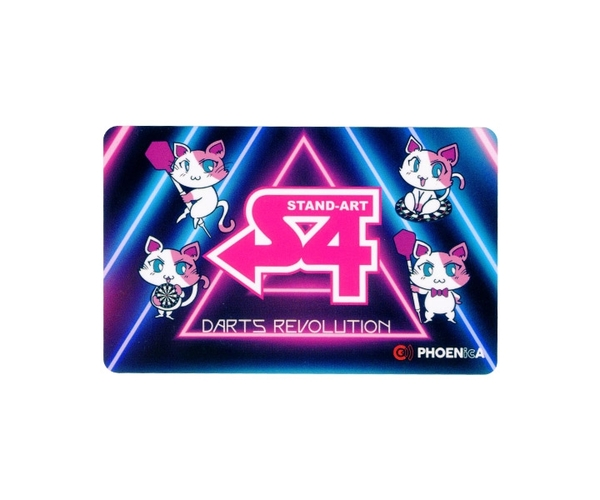 【PHOENIX x S-DARTS】S4 CATS 小梅 with Limited Style 飛鏢配件 DARTS 鳳凰卡