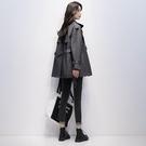 風衣 女中長款2020春秋季新款短款時尚氣質流行小個子大衣工裝外套 阿宅便利店
