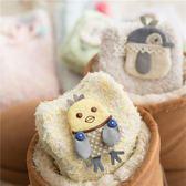 (交換禮物 聖誕)尾牙 珊瑚絨襪子女中筒襪毛巾地板襪成人保暖可愛厚冬天兒童寶寶睡眠襪
