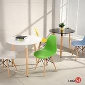 LOGIS邏爵- 自然簡約北歐80CM 圓形桌 圓桌 工作桌 書桌  休閒桌 C80