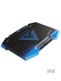 散熱器 筆電游戲本戰神拯救者15.6英寸電腦排風扇17.3底座板水冷靜音聯想【快速出貨】