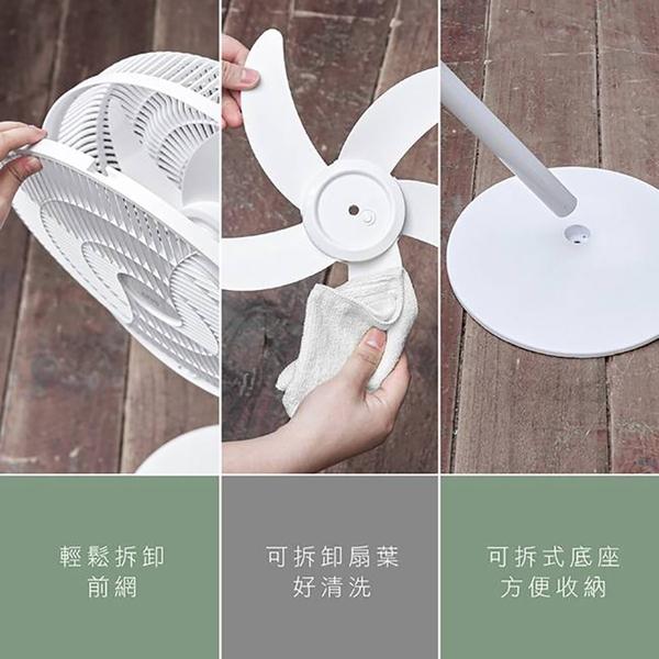 ◆【買大送小】KINYO 耐嘉 DCF-1496 14吋 USB行動充電DC扇 直立扇 靜音 電風扇 攜帶式 桌扇 涼風扇