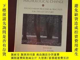 二手書博民逛書店Handbook罕見of psychological Chang