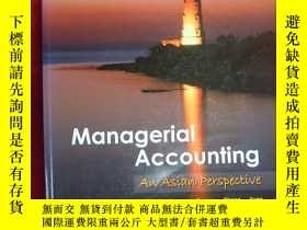 二手書博民逛書店(16開本)Managerial罕見Accounting An Asian Perspective(管理會計)