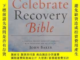 二手書博民逛書店外文原版罕見Celebrate Recovery Bible 塑