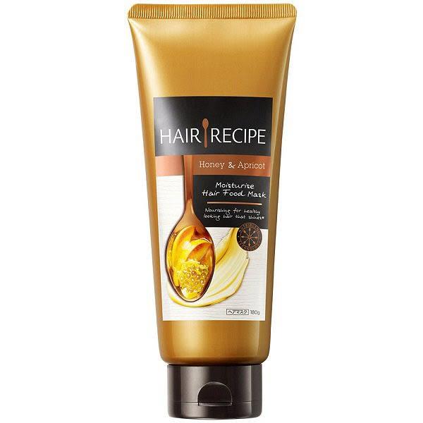 [Hair Recipe]P&G蜂蜜&杏桃保濕滋養髮膜180g