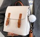洋氣包包女2021新款潮時尚網紅簡約休閒雙肩背包百搭學生書包