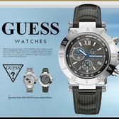 GUESS 時尚魅力休閒腕錶 44mm/GC/男女兼用/防水/SV/計時碼表/A47001G2 現+排單/免運!