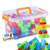 兒童顆粒塑料益智拼搭拼裝插積木1-2幼兒園男女孩寶寶玩具3-6周歲 聖誕節好康熱銷