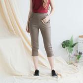 【衣大樂事】MIT四釦造型秀士中褲