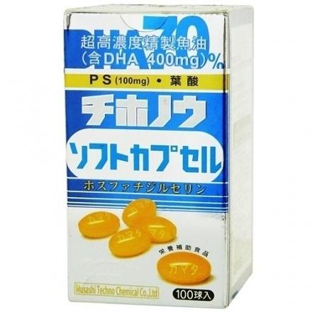元氣健康館 日本思康 DHA.PS.Foilc Acid 100粒/盒