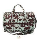HAPI+TAS 摺疊小旅行袋 - 愛麗絲派對綠色