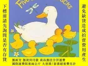 二手書博民逛書店five罕見little ducks 英文原版童書 硬精裝Y128062 Annie Kubler Child