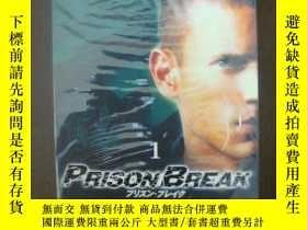 二手書博民逛書店PrisonBreak越獄【光盤第一季原裝罕見5K8D5】Y18