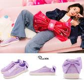 Puma Suede Bow Wns 紫 白 浪漫紫 蝴蝶結 緞帶 麂皮 女鞋 休閒鞋 【PUMP306】 36731705