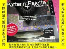 二手書博民逛書店Pattern罕見And Palette Sourcebook 4-模式和調色板資源手冊4,帶光盤Y21430