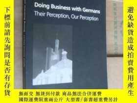 二手書博民逛書店DOING罕見BUSINESS WITH GERMANS:The