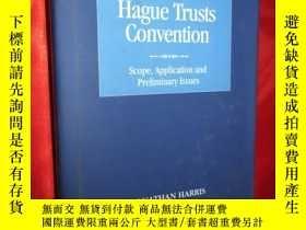 二手書博民逛書店The罕見Hague Trusts Convention: Sc