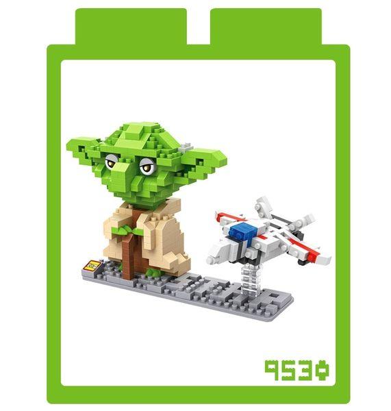 【現貨】LOZ 迷你鑽石小積木 Star Wars 星際大戰電影系列 尤達大師 9530