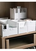 【雜物收納盒】中 廚房調味料整理盒 餐盤餐具分類收納架 廚櫃浴室收納 內衣褲分類盒 可堆疊