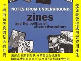 二手書博民逛書店Notes罕見From Underground-地下記錄Y443421 Stephen Duncombe Mi