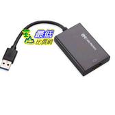 [103美國直購] Cable Matters SuperSpeed USB 3.0/2.0 to HDMI/DVI Adapter in Black 轉換器 $2193
