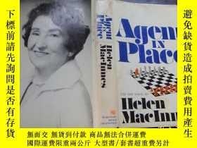 二手書博民逛書店Agent罕見in Place by Helen MacInne