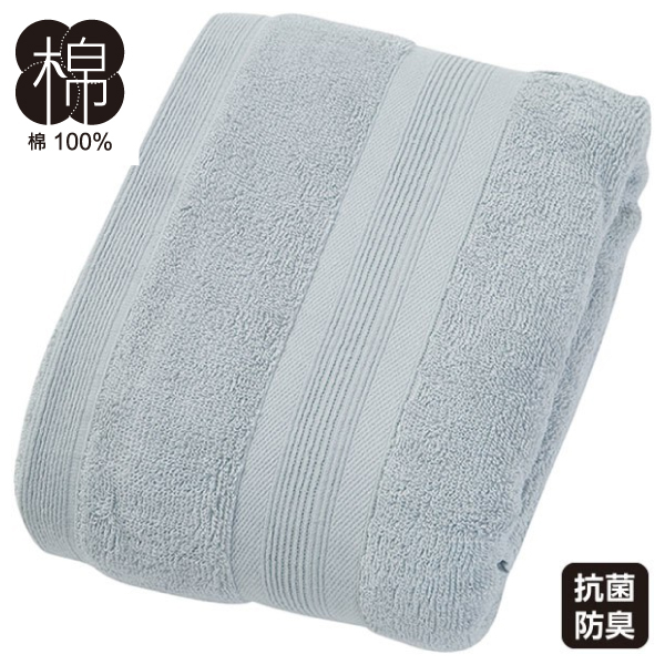 大浴巾 DAY VALUE LGY 75×150 NITORI宜得利家居