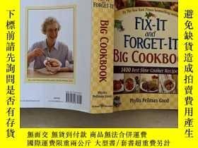 二手書博民逛書店Fix-It罕見and Forget-It Big Cookbo
