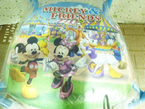 【震撼精品百貨】Micky Mouse_迪士尼米奇~啾啾兒童椅-藍