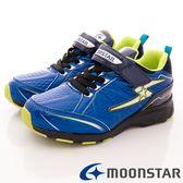 【MOONSTAR】日本月星童鞋-防波競速款7485藍(19cm-24.5cm)