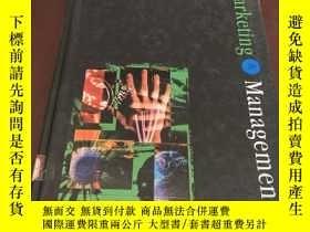 二手書博民逛書店Marketing罕見Management (second ed