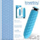 情趣用品 迷你跳蛋 Lovetoy Womanizer 8段變頻靜音時尚 小型按摩棒  BLUE LV2716