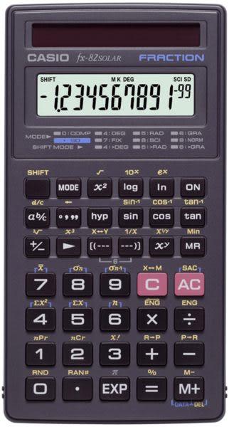 【破盤價】CASIO 卡西歐 FX-82SOLAR 工程用計算機 / 台
