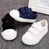 寶寶學步鞋小白鞋軟底1-2-3歲單鞋男板鞋女布鞋春秋款嬰兒鞋子潮   mandyc衣間