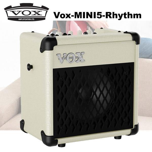 【非凡樂器】VOX MINI5 RHYTHM 吉他擴大音箱 可電池供電 白色款 / 贈導線 公司貨保固