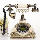 仿古電話機歐式古董復古電話機創意時尚家用座機田園辦公電話機   潮流前線