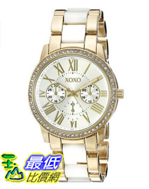 [美國直購] 女錶 XOXO Women s XO5875 Analog Display Analog Quartz Two Tone Watch
